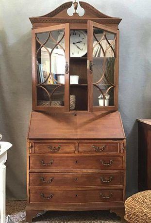 armario, cristaleira, estante, vitrine, escrivaninha, vintage, rustico