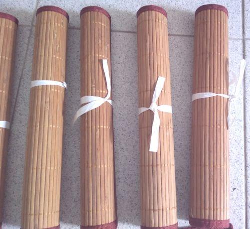 6 Toalhas individuais Bambu Mesa