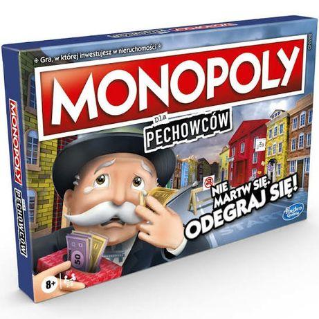 Monopoly dla pechowców hasbro nowka ofoliowana