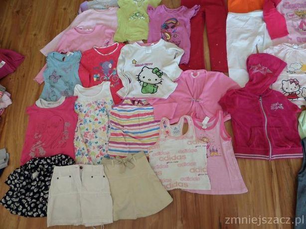 Zestaw ubrań dla dziewczynki rozm 116-128