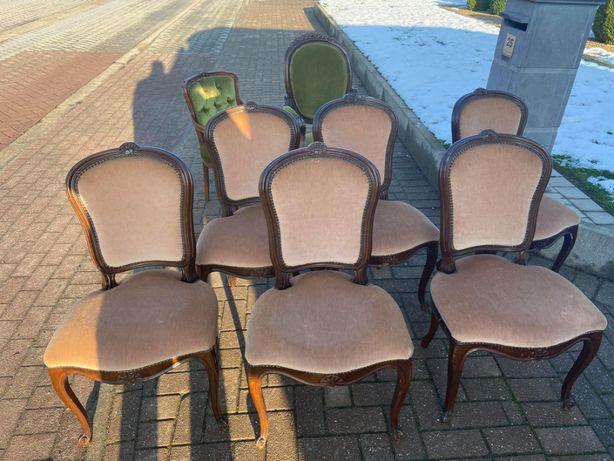 Piekne 6 krzeseł, styl ludwik XV!!! Tanio!!! 1