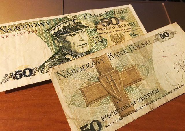 20 злотых 1988 год старинная польская банкнота