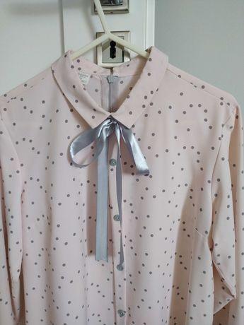 Koszula damska w groszki rozmiar 38