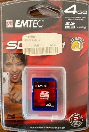 Karta SD, nowa, 4 GB
