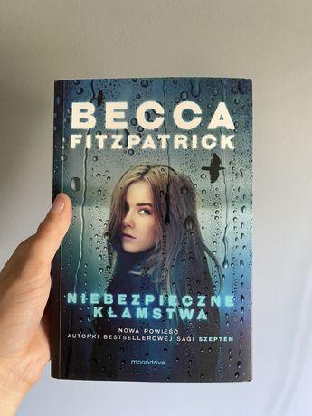 """Książka pt. """"Niebezpieczne kłamstwa"""" Becca Fitzpatrik"""