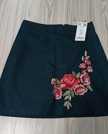 Nowa zielona spódnica trapezowa Orsay metki 36