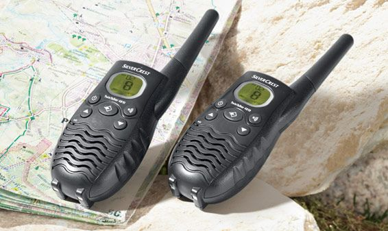 2 X Rádio PMR446 - SilverCrest TwinTalker 4810
