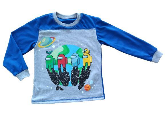 Bluzka długi rękaw koszulka AMONG US 116, 122, 128, 134, 140, 146,152