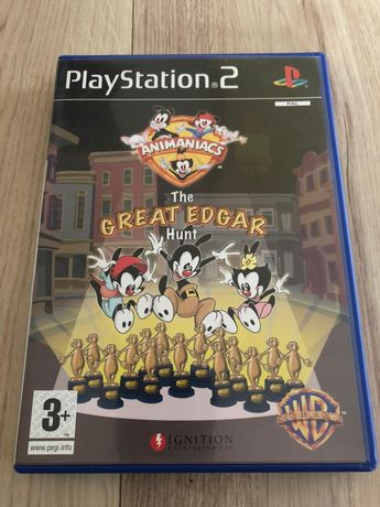Gra PS2 Animaniacs dla dzieci The Gray Edgard Hunt