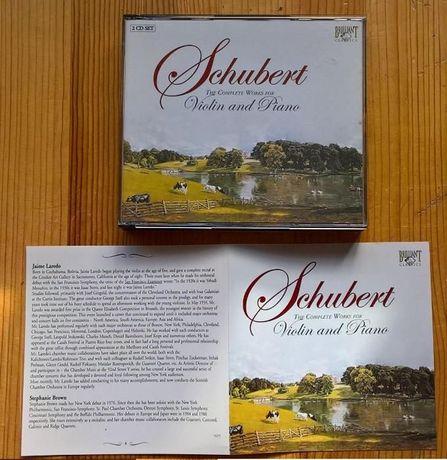 "CD duplo ""Violin and Piano"" / Schubert"