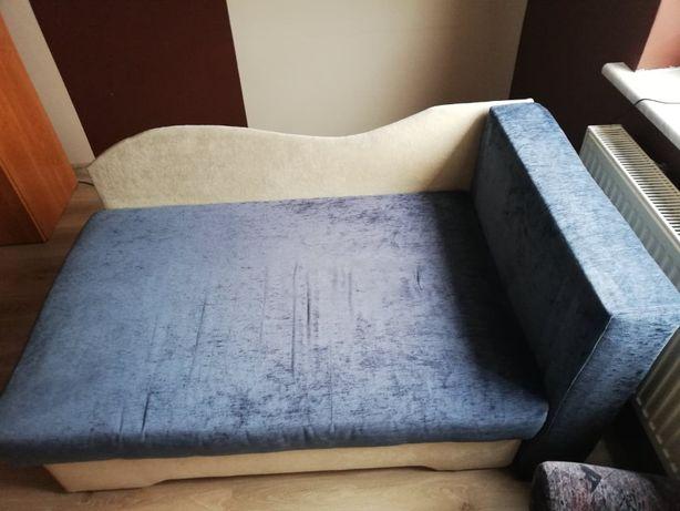 Łóżko dziecięce tapczan łóżeczko rozkładane dla dzieci wersalka