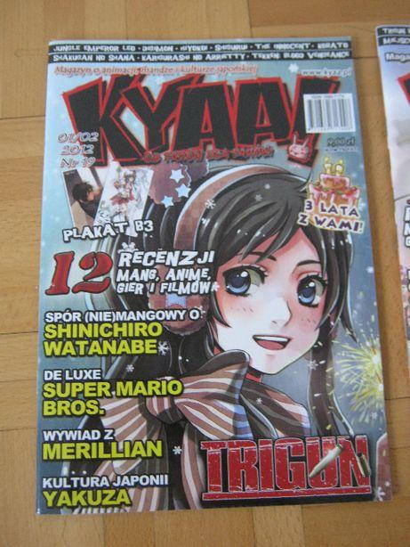 magazyn o mandze i anime otaku kyaa