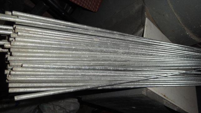 Шпильки оцинкованные М6 длиной 1 метр