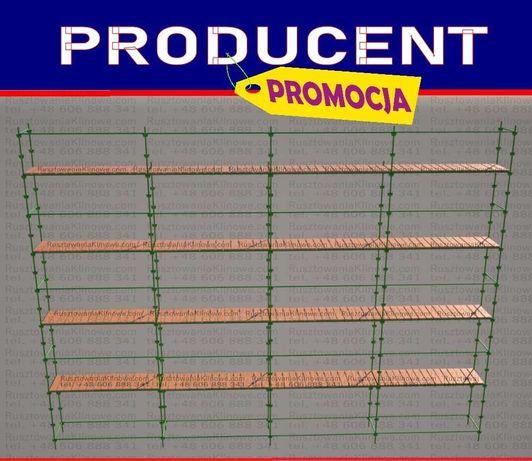 •PRODUCENT rusztowanie modułowe, klinowe, klin, choinkowe 100m2