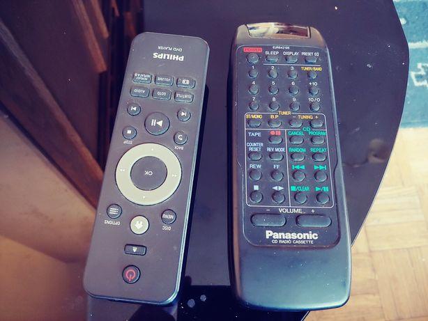 2piloty. Panasonic i Philips. Oryginalne.tanio