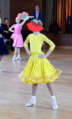 Платье бальное танцы