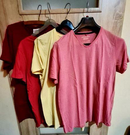 Koszulki męskie 4 pak nowe bez metek