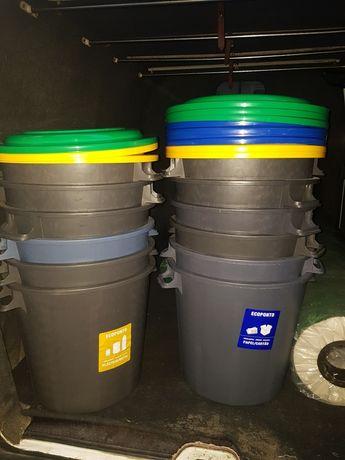 Ecoponto de 50 litros com tampa