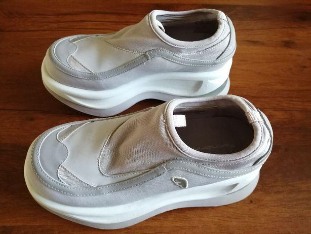 Buty sportowe na koturnie Fornarina