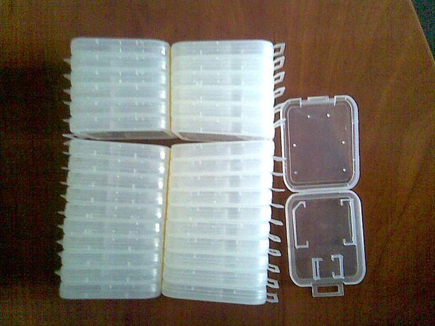 Пластиковые чехлы для SD карт
