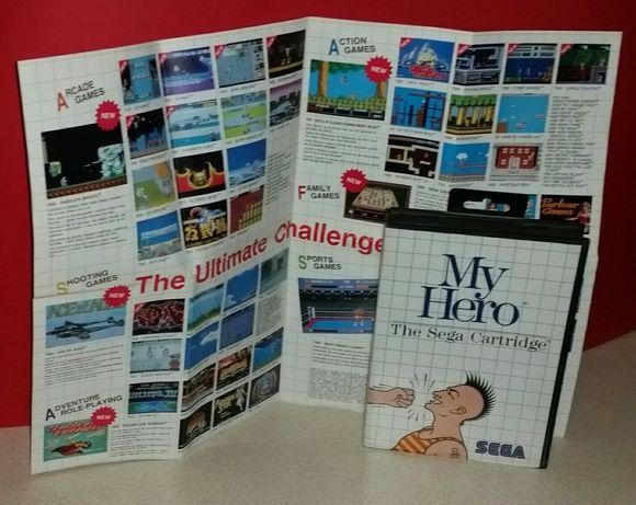 Gra My Hero Sega Master System