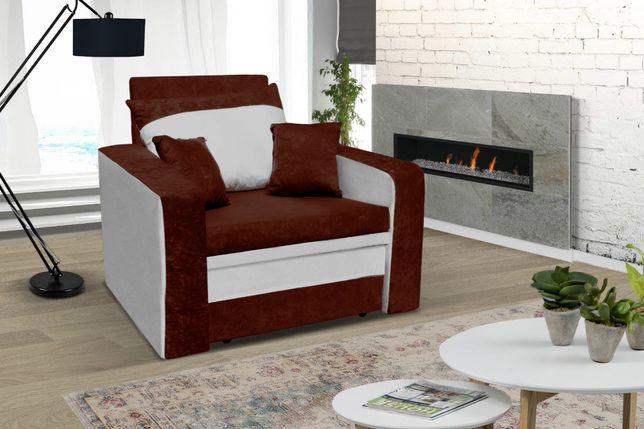 fotel rozkładany amerykanka 1-os łóżko z funkcją spania/DOSTAWA GRATIS