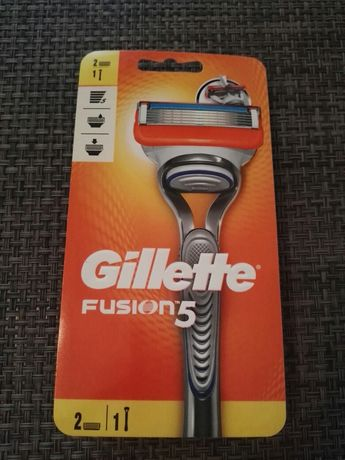 Fusion Gillette ручка + 2 катріджа