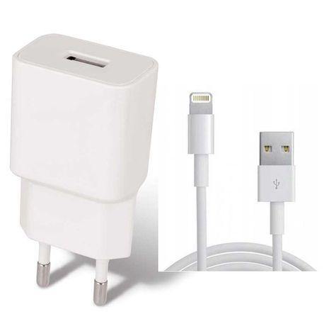 Ładowarka + Kabel iPHONE APPLE 5 6 7 8 X XR XS +