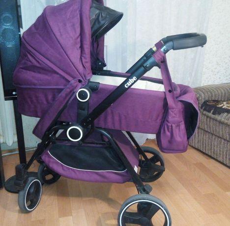 Универсальная коляска 2 в 1 Babyhit Cube Grape Juice