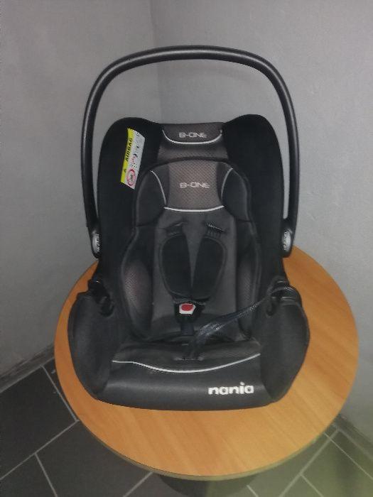 Samochodowy fotelik nosidełko NANIA B-ONE DO 13 KG