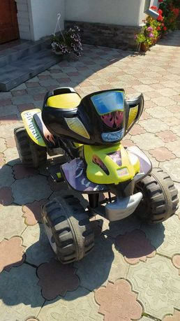 Дитяча електро машинка квадроцикл на 2 швидкості