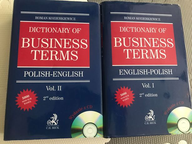 Dictionary of Business Terms