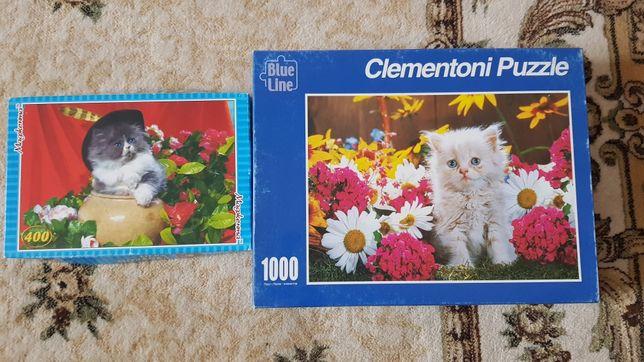 Пазлы Clementoni Puzzle Котики