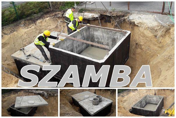 Szambo dwukomorowe 12m3 gnojówki deszczówki Szamba betonowe PRODUCENT