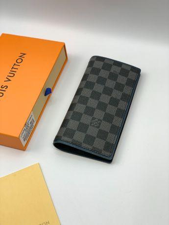 Мужской органайзер кошелек купюрник бумажник LV Louis Vuitton k335