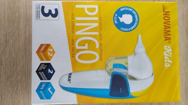 Elektryczny aspirator do nosa Pingo novama kids, odciągacz kataru