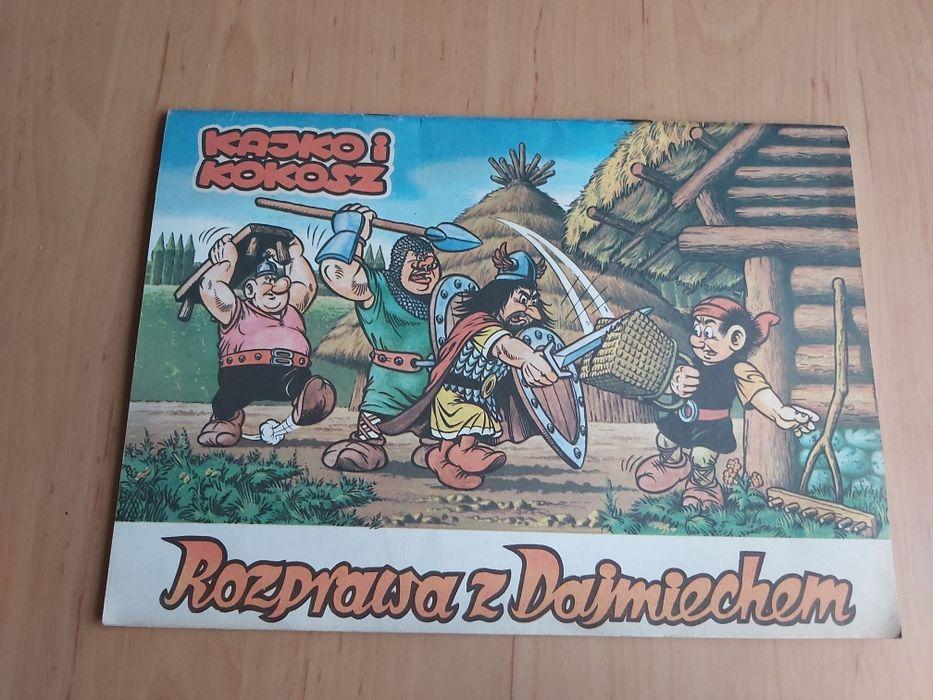 Kajko i kokosz rozprawa z Dajmiechem komiks Kępno - image 1