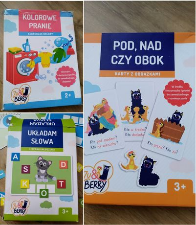 Zestaw gier i zabaw zu & berry zabawy edukacyjne