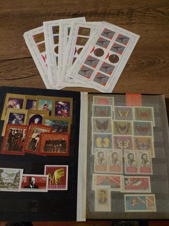 Klaser ze znaczkami pocztowymi