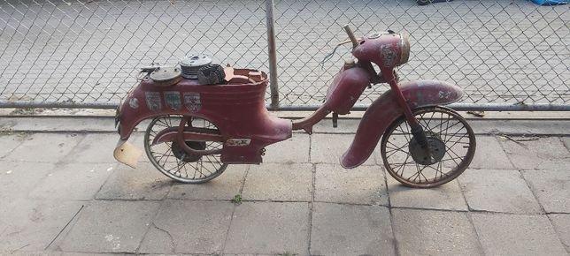 Rama Jawa Jawka 555 Pionier 1960r. (wsk wfm shl mz komar romet)