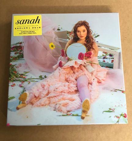 Sanah Królowa dram Super Deluxe Box 2 Vinyl 2 CD Autograf