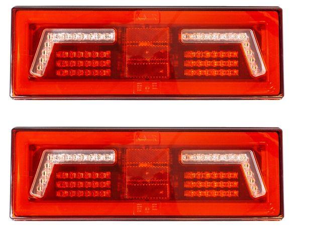 Lampa zespolona tylna LED DIODOWA przyczepy lawety pomoc kontener