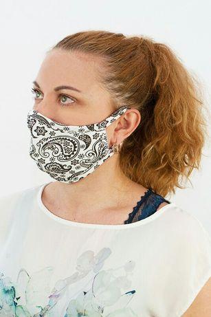 Трикотажная двухслойная маска
