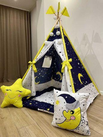 Вигвам детский  БОНБОН матрас Новинка палатка игровая халабуда