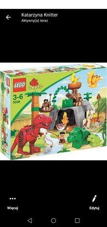 Unikat lego duplo dinozaury