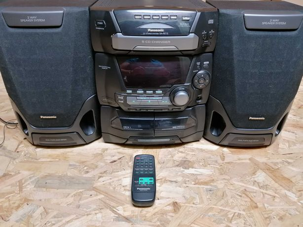 Wieża radio CD Panasonic sa-ak15