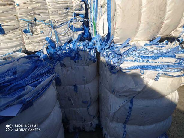Używany Worek big bag 90x90x100 cm do zbóż / idealna jakość worka