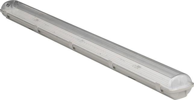 Oprawa hermetyczna led IP65 + 2x świetlówka led T8 18W