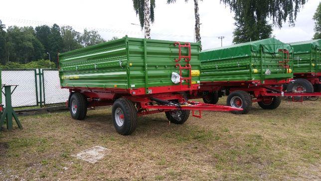 Przyczepa rolnicza T653/2 PRONAR 6 tonowa od dilera kredyt Metal fach