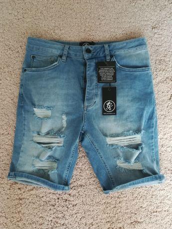 Spodenki jeansowe męskie NOWE